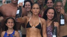 'It's her JOB to look like that': Jennifer Lopez's stunning bikini snap divides commenters