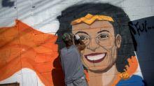 Favela de la concejal asesinada en Rio de Janeiro marcha en su memoria