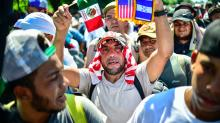 News Bites: Migrant caravan moves closer to US, Trump looks to eradicate transgender protections, Musk's LA tunnel set to open