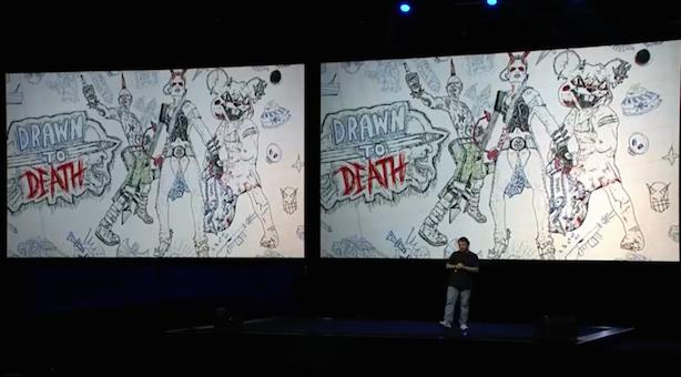 Drawn to Death is David Jaffe's sketchbook arena shooter