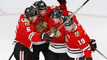 Toews, Blackhawks into playoffs for first time since 2017