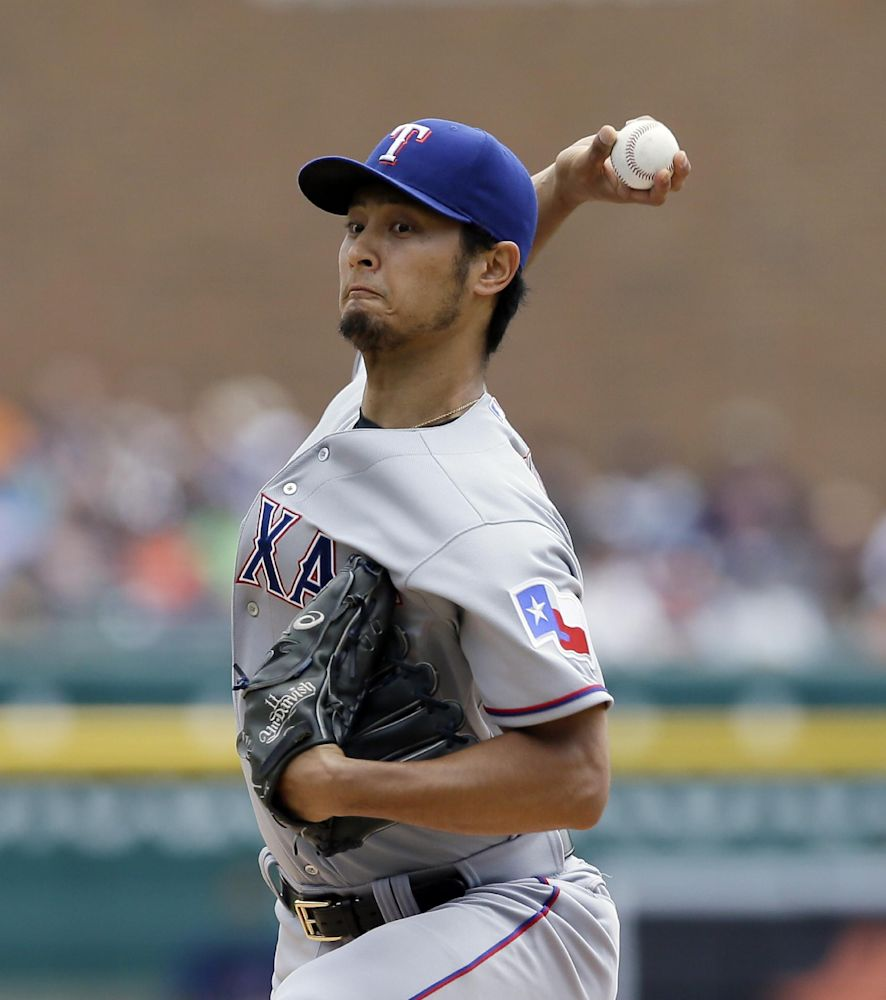 Darvish's neck is fine, will start on Sunday