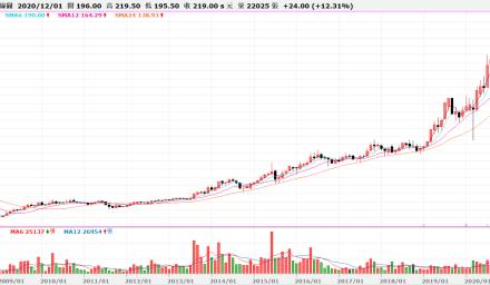 成長股的強勢上漲型態