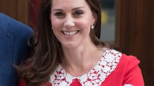 Kate Middleton's perfect post-baby hair sparks debate