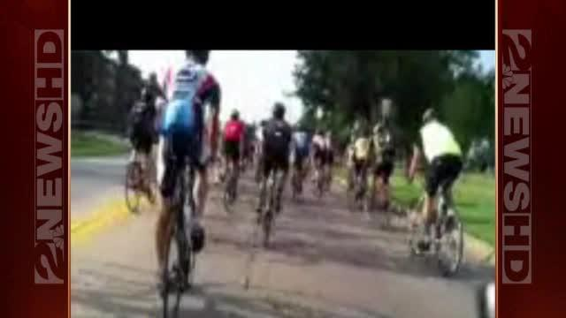 George's live stream shot during Tulsa Tough