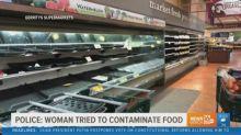 Coronavírus: mulher tosse de propósito nas prateleiras e mercado joga fora US$ 35 mil em comida