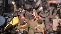 Jewish settlers, Israeli forces clash over demolitions
