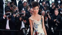 'Solo' star Thandie Newton showcases black 'Star Wars' characters on amazing Cannes dress
