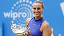 I'm no favourite for Wimbledon: Kvitova