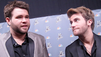 The Swon Brothers Backstage at 'The Voice'