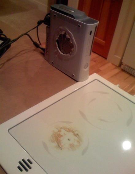 Good boys and girls don't leave their Xbox 360s on the stove