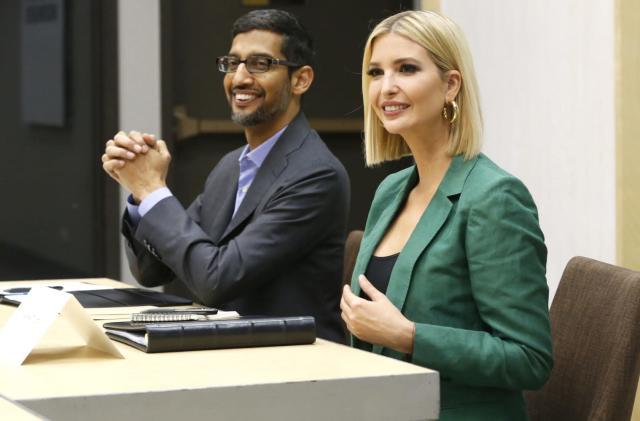 Google and Ivanka Trump unveil a tech job training program