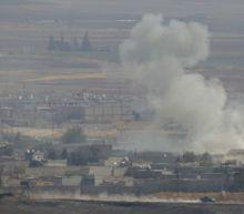 Trump sanctions fail to slow Turkey assault; Syrian troops move on Manbij