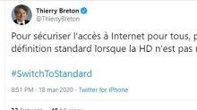 Breton (Ue) lancia allarme su streaming TV HD, chiama Netflix