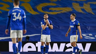 Brighton left to rue missed chances in stalemate with depleted Everton
