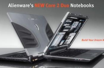 Alienware adds Core 2 Duo to Area-51, Sentia laptops