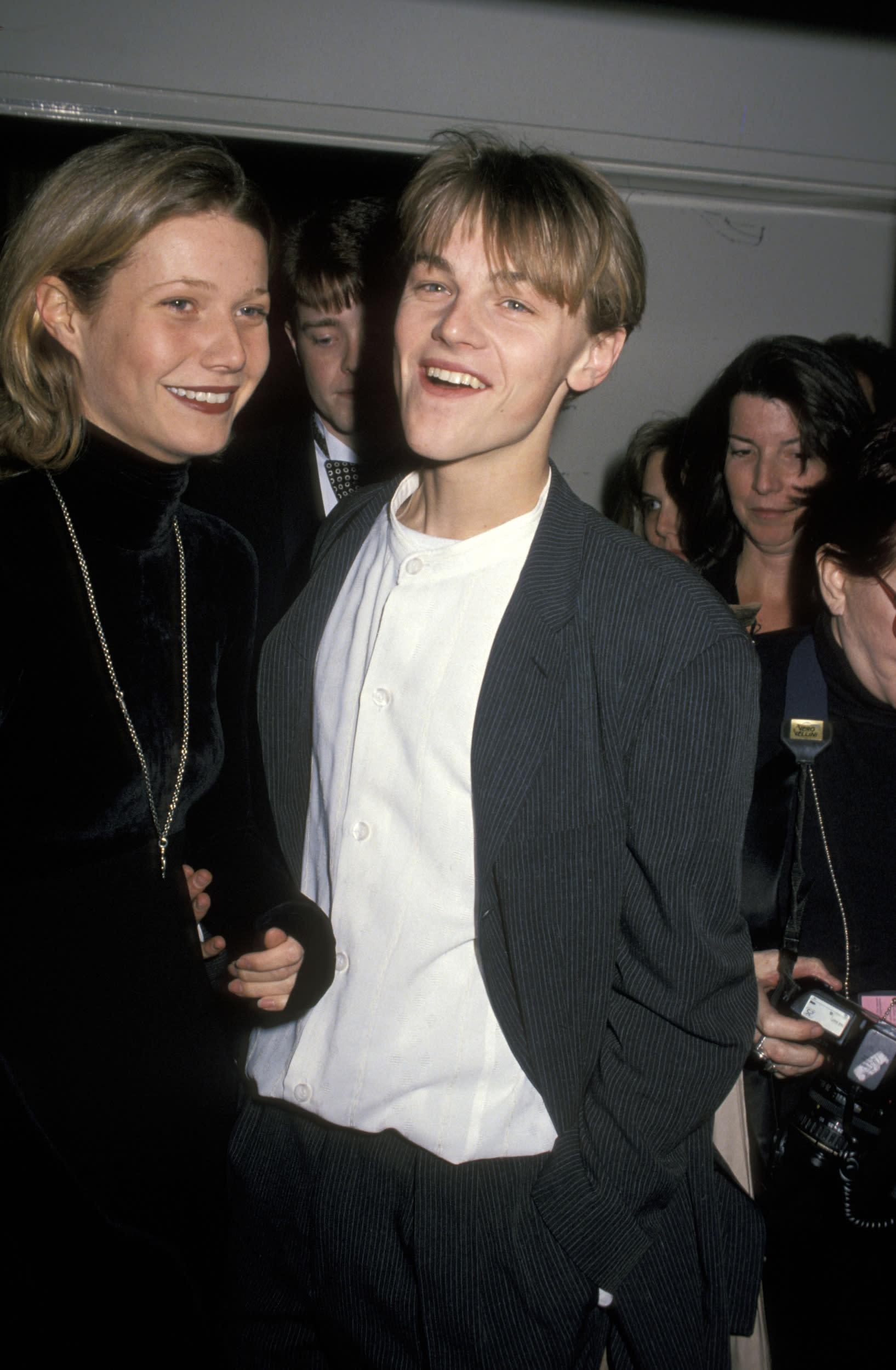 Gwyneth Paltrow and Leonardo DiCaprio (Photo by Jim Smeal/WireImage)