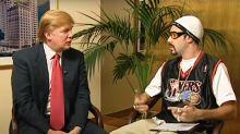 """La tensión entre Donald Trump y 'Borat': el presidente lo llama """"farsante y """"siniestro"""" y el comediante lo ridiculiza"""
