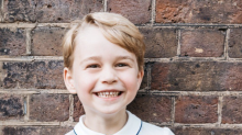Kensington Palace Just Released the Cutest Photo of Prince George for His Birthday