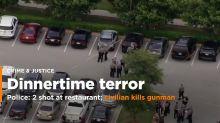 Authorities: Suspected restaurant gunman had gun license