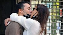 Katie Holmes and Emilio Vitolo Shared Some *Serious* PDA in Central Park