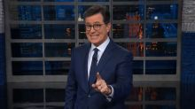 Colbert: Trump Is 'Like a Zeppelin – Full of Hot Air and We're All Waiting for Him to Go Down in Flames' (Video)
