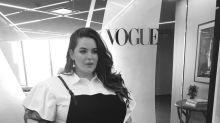 Plus-size model Tess Holliday balances motherhood and modeling like a pro
