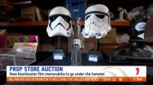 Hollywood prop store auction