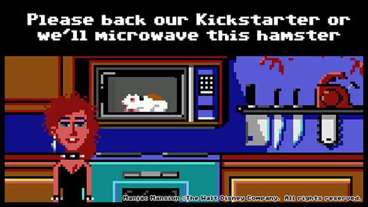 Maniac Mansion designers seek funding for new 2D adventure