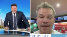 Today's Karl Stefanovic loses it over Matt Damon's TAB interview