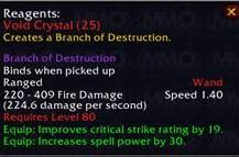 Professional benefits in Wrath