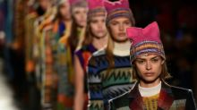 Missoni brings 'Pussyhats' to Milan fashion week