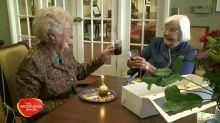 Best friends celebrate 95th birthdays together