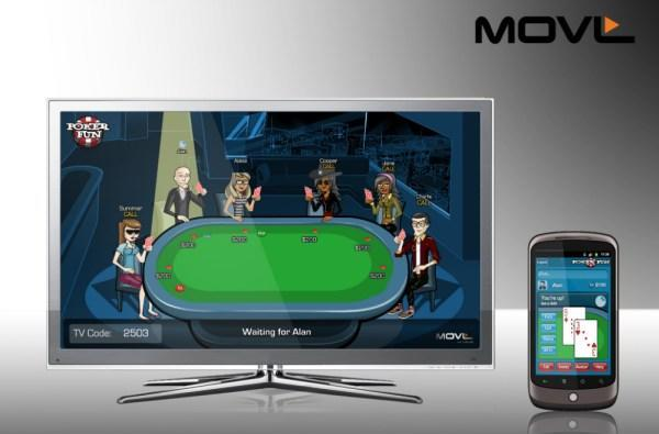 MOVL's PokerFun.tv game shown off on Google TV