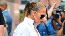 Jennifer Lopez's Insane Denim Boots Are an Optical Illusion