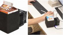 【有片】紙包飲品專用 日本出小型冷凍裝置