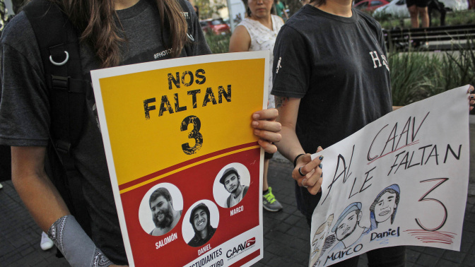 Cártel asesinó a estudiantes de cine desaparecidos
