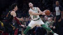 Celtics F Hayward returns from injury against Cavaliers