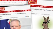 'Political madness and paranoia': Chinese media continue to attack Australia