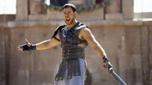 Russell Crowe's contribution to 'Gladiator' script 'greatly exaggerated', says producer