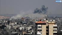 Israeli Airstrike Hits Near Gaza's Main Hospital