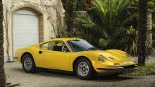 Ex-Elton John Ferrari Dino for sale