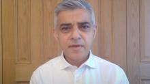 Sadiq Khan welcomes face mask 'U-turn' but warns of a second wave in London