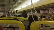 Passengers' ears 'left bleeding' after plane plummets 27,000 ft