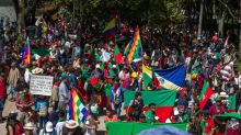 Indígenas y sindicatos de Colombia inician otro paro contra el Gobierno de Duque