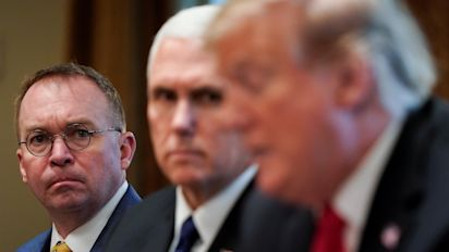 Mulvaney feuding over chief of staff job
