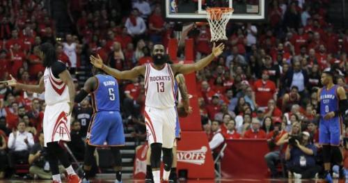 Basket - NBA - Les Houston Rockets renversent le Thunder d'un énorme Russell Westbrook