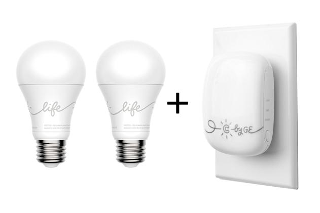 GE hub connects its smart lights to Alexa and Google