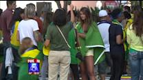 Brazilians In San Diego Show Support Of Protests