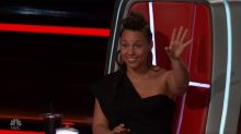 Alicia Keys was 'speechless' following 'Voice' Knockout Round performances